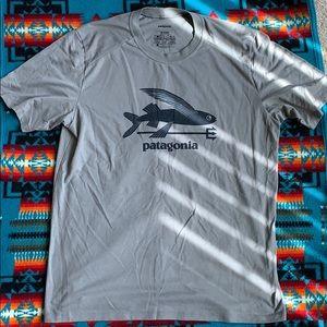 Patagonia Men's Flying Fish T-Shirt Size L